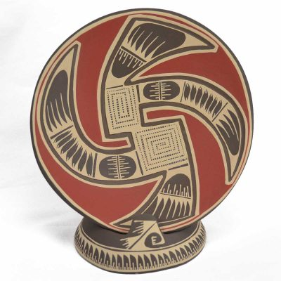 Lucero Ozuna Silveira: Plate with Stand