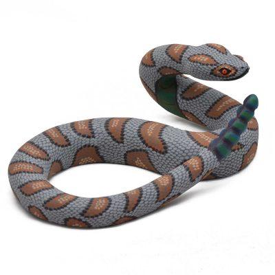 Oaxacan Wood Carving - Eleazar Morales: Rattlesnake